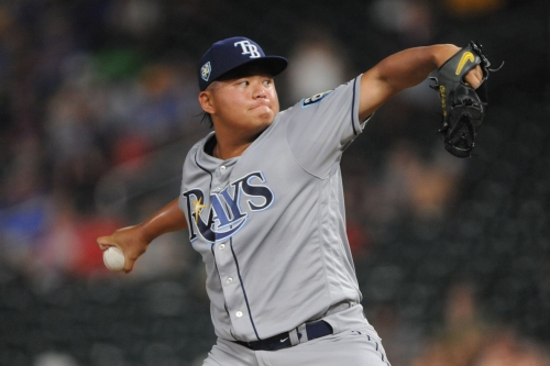 Tampa Bay Rays trade RHP Chih-Wei Hu to the Cleveland Indians for INF Gionti Turner