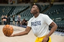 Pacers' Victor Oladipo is doubtful vs. Jazz tonight