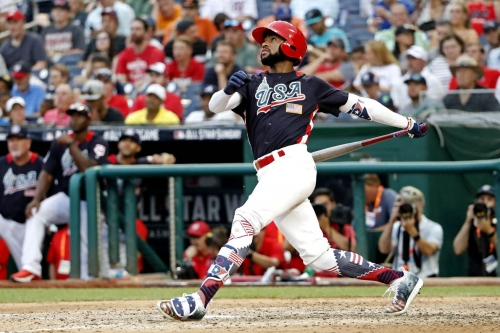 Angels #1 prospect Jo Adell hits it out of the park with his 2nd annual Turkey Drive