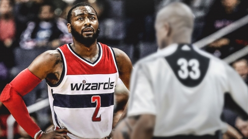 Wizards' John Wall upset with officiating after loss to Blazers