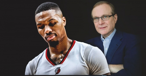 Blazers' Damian Lillard speaks out on rumors of trade pact with Paul Allen