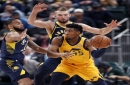 Oladipo-less Pacers steamroll Jazz 121-94