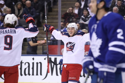 Blue Jackets Strike First, But Fall to Maple Leafs 4-2