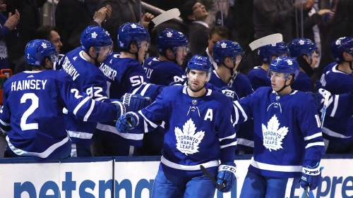 Hyman scores winner, Leafs beat Blue Jackets for fourth straight win