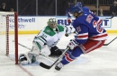 Goalie Ben Bishop hurt as Stars fall short of 'championship work ethic' in loss to Rangers