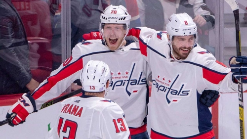 Lars Eller lifts Capitals to overtime win against Canadiens