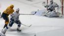 Predators' Johansen executes perfect tip to score vs. Lightning