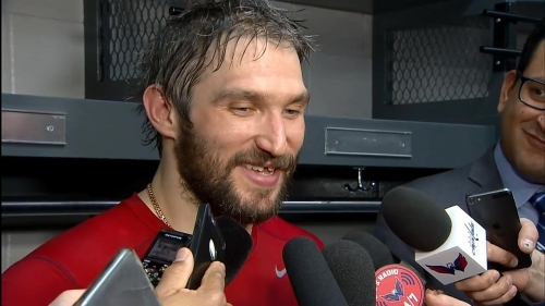 Ovechkin applauds 'beautiful save' by Price in regulation