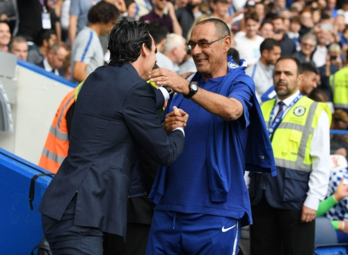 Maurizio Sarri picks out Unai Emery's best quality as Arsenal manager