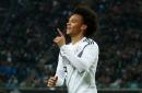 Leroy Sane gives Pep Guardiola a Man City selection headache as he scores again for Germany