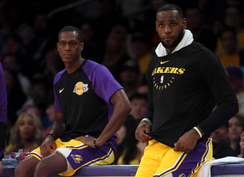 LeBron James Happy To Have Rajon Rondo Back On Lakers' Bench, Luke Walton Sets Parameters For Involvement In Coaches' Huddle