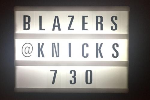 Game Preview: Knicks vs. Trail Blazers- 11/20/18
