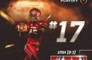 Utah ranked No. 17 in latest College Football Playoff Poll