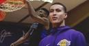 Lakers' Kyle Kuzma reacts to Zion Williamson and Duke's dominance vs. Auburn