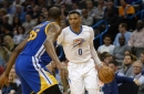 Preview: Westbrook leads surging Thunder against wounded Warriors