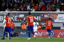 Alexis Sanchez's penalty woes continue but Manchester United forward scores for Chile
