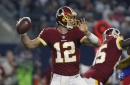 WATCH! Redskins vs Cowboys: Colt McCoy hits Vernon Davis for a 53 yard TD!