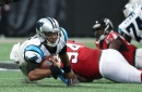 Why did the Falcons make Deadrin Senat an inactive against the Saints?