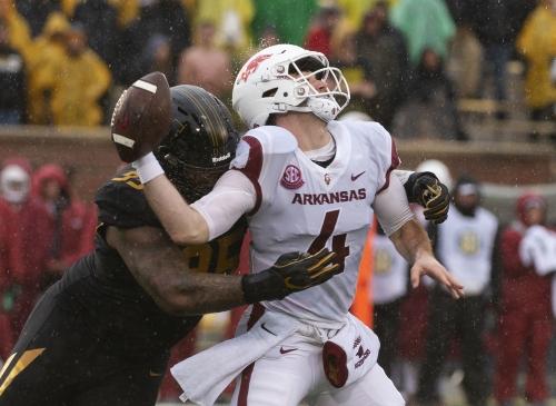 Mizzou defense steals spotlight, blanks Arkansas in home finale