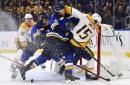 Nashville Predators 2, St. Louis Blues 6: Predators Can't Ignite Offense in Physical Collapse