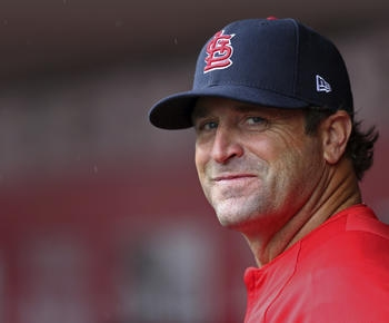 Matheny hired by Royals; possible successor to Yost?