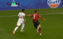 Injured Victor Lindelof beats Jordan Ayew in race on one leg during Manchester United's draw with Crystal Palace