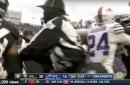 VIDEO: Jaguars vs. Bills players fight, sidelines empty