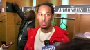 Video: Jets WR Robby Anderson after loss to Patriots