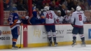 Capitals' Wilson scores five-hole, lays big hit on Hickey