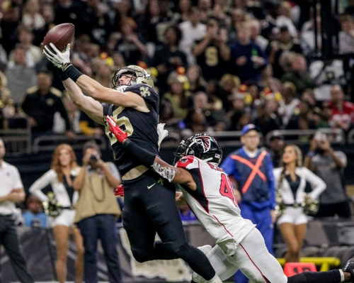 Saints TE Dan Arnold is becoming another player defenses have to worry about