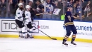 Rasmus Ristolainen goes between his legs to fool Brent Burns and score crazy goal