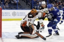 Nick Ritchie, Carter Rowney spark Ducks past Lightning with third-period goals