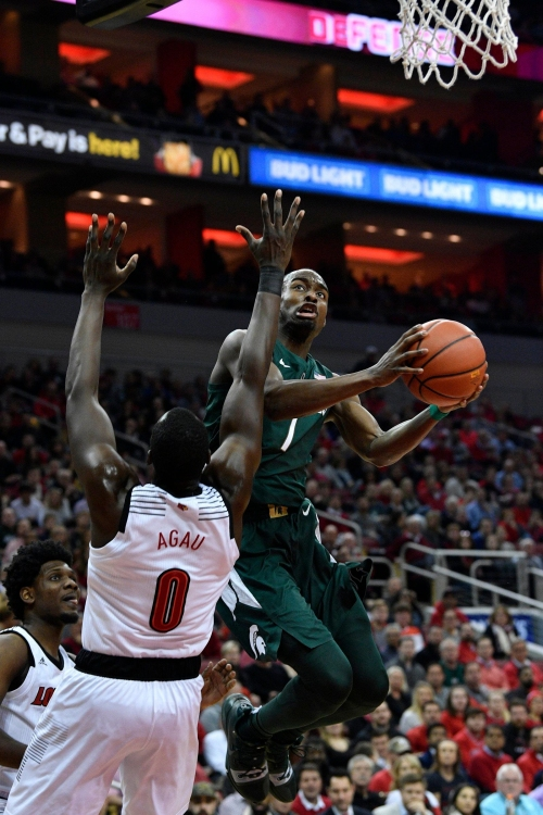 Early turnovers cost Michigan State in 82-78 OT loss to Louisville