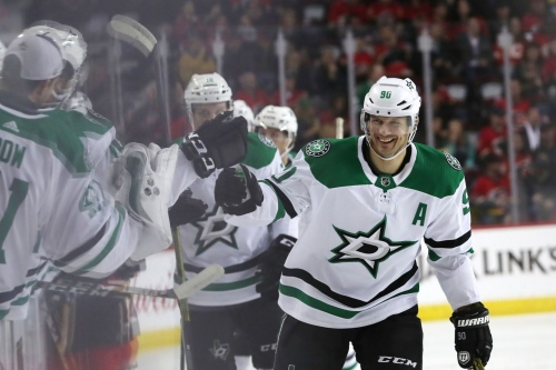 Stars' Scoring Comes to Life in 4-3 Overtime Win Against Flames