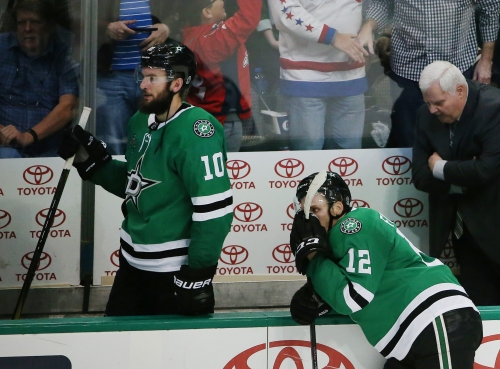 Where does Martin Hanzal fit into the Stars' lineup when he returns from injury?