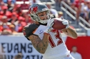 Bucs receiver Mike Evans will try to atone for his worst game of the season vs. Carolina