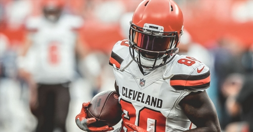 Browns WR Jarvis Landry fine with drop in production due to team's success