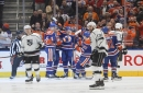 Jonathan Quick's return spoiled by late goal in Kings' loss to Oilers