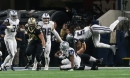 Jerry Jones, Cowboys teammates react to 'The Closer' Jourdan Lewis hauling in game-sealing INT off Drew Brees