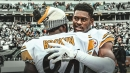 Steelers' JuJu Smith-Schuster on how Antonio Brown elevates his game
