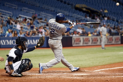 The Tigers are interested in Alcides Escobar, sadly