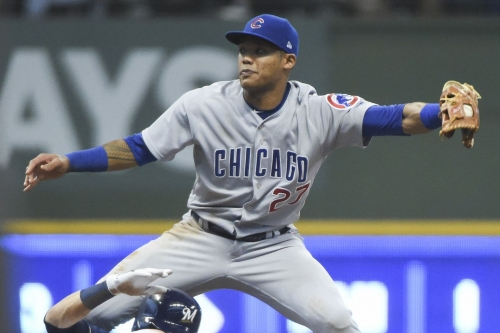 Addison Russell and Theo Epstein talk about addressing domestic violence, and his Cubs future