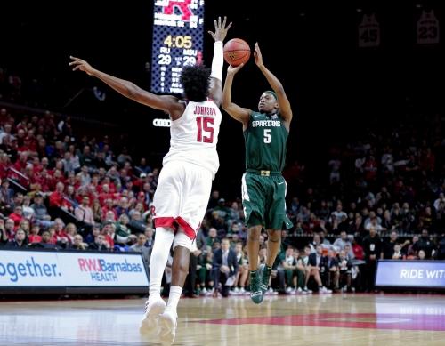 Michigan State basketball puts away pesky Rutgers, 78-67