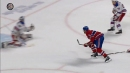 Canadiens' Tatar finds Weber with sweet pass from his back