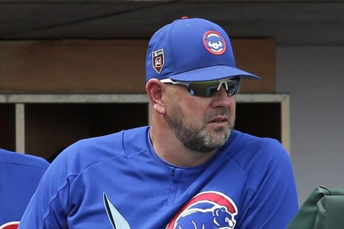 Cubs bench coach Brandon Hyde is interviewing for another managing job