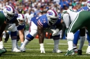 Bills continue to tinker with offensive line, Sirles starts for injured Miller