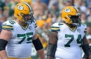 Packers OL Byron Bell & Bryan Bulaga leave Cardinals game with injuries