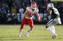 Travis Kelce shines as Chiefs beat Raiders 40-33