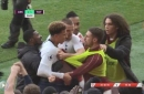 Arsenal star Aaron Ramsey brutally mocks Tottenham Hotspur's Eric Dier after ugly derby confrontation