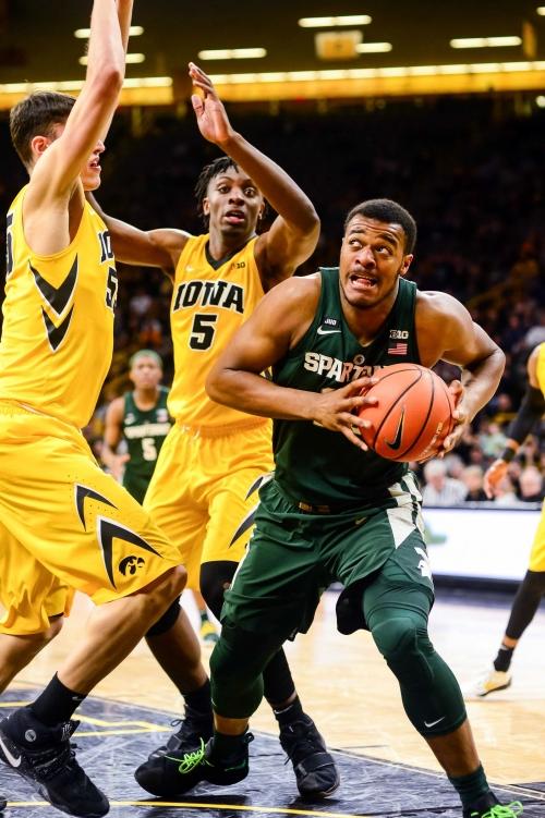 Michigan State basketball vs. Iowa Hawkeyes: Time, TV, game info